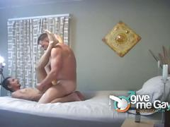 Amateur daddy couple homemade gay sex