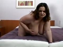 Big lady fucks two