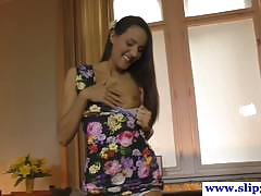 Jim slip: christen- 19 year old damsel in a dress!
