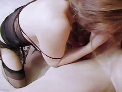 Sleazy hardcore pumping as lovely brunette takes big cock