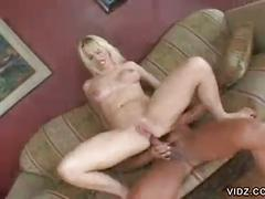 Blonde nicky hunter hot dp threesome