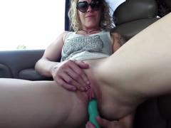Orgasmical car ride