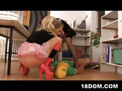 Hot heeled teens femdom bdsm fucking