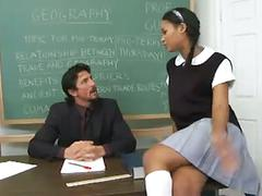 Teacher can't resist this hot student