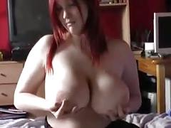 Young sexy bbw solo