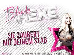 Blondehexe - extremer deepthroat+cumshot