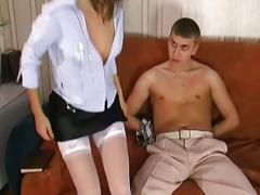 Little brunette gets hardcore anal