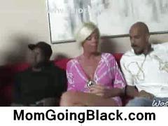 Watching my mom go black jordan blue