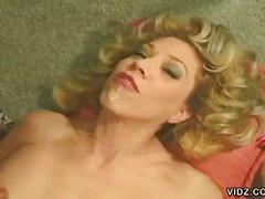 Hot blonde granny zandy rose gets hardcore anal