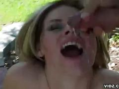 Daphne rosen fucked hard by two hard cocks