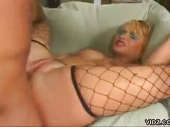 Slutty bitch katja kassin gets back hole drilled