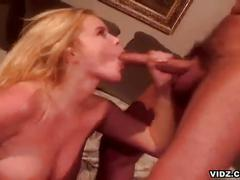 Busty blonde alicia rhodes goes ass to mouth