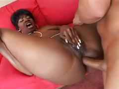Big booty ebony slut gets fucked hard