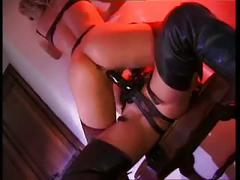 Monique covet lesbian  domination