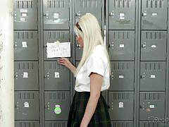 Jenna is a very naughty schoolgirl @ corrupt schoolgirls #08