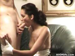 Amateur girlfriend maid roleplaying