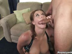 Hd busty sara stone gets filled up