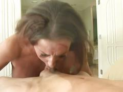 Richelle ryan deep throats and swallows cum