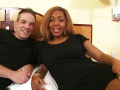 Old pervert fucks young ebony babe