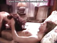 Busty vintage brunette gets pussy pounded