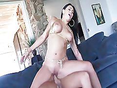 hardcore, milf, brunette, big-dick, blowjob, big-tits, pornhub.com, mill, mom, busty, shaved-pussy, riding, doggy-style, cumshot, facial