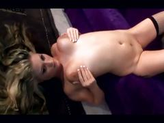 Busty blonde bailey brooks in fishnet stockings gets nailed