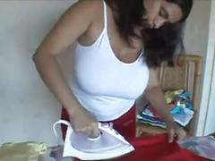 Alejandra arbona ironing
