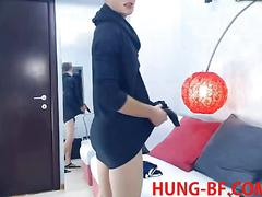 Hung twink loves teasing