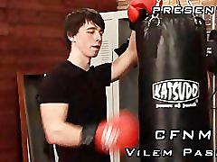 Cfnm in the gym