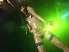 Aya fukunaga hot bikini oil dancing