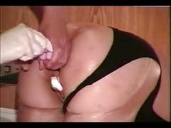 Censored masked woman loves big one pt2