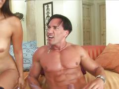 Cassandra cruz and rena sky drilled in threesome