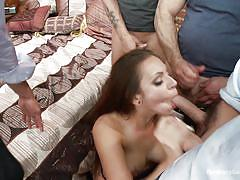 Milf ends up in a cock pit