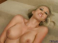 Blonde bitch fucked by a black stud.