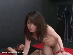 Extreme hardcore punishment scene