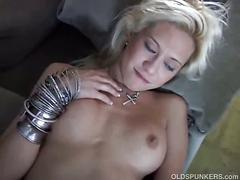blonde, masturbation, mature, milf, solo, masturbating, mature amateur, mom, platinum blonde, white hair