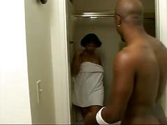 Mature bambi gets fucked hard after showering