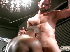 Interracial anal fuckers deryk and sam