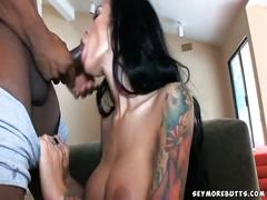 Angelina valentine cock gagging