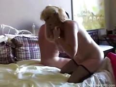 Blonde porn star getting fucked hardcore
