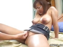 asian, big ass, big tits, brunette, hairy pussy, hardcore, pussy, eri yukawa, big boobs, brown hair, busty, doggy style, japanese, nice ass, piledriver, trimmed pussy
