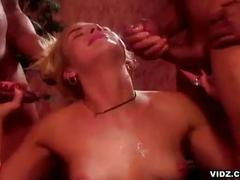 Olivia saint penetrated by two cocks