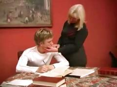 Russian mature mother boy fucking part1