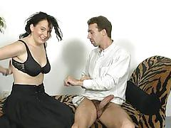 German masseuse fucks her client