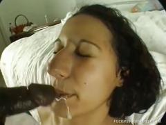 Mystika's pussy and black cock