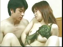 Asian bitch with small tits gets her cunt screwed