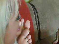Mommy licked my feet?