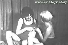 Vintage 1929 suprise for lesbian milf