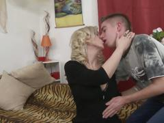 Taboo sex fantasy mature mom and young son