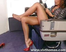 Airplane leg sex